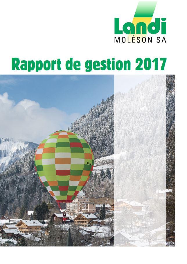 rapport gestion landi 2018